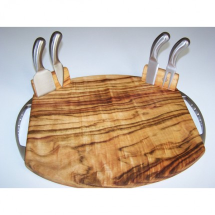 Cheese Board – Oval with Tools